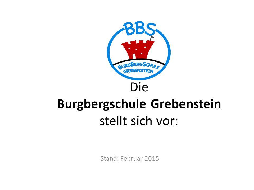 Die Burgbergschule Grebenstein stellt sich vor: Stand: Februar 2015
