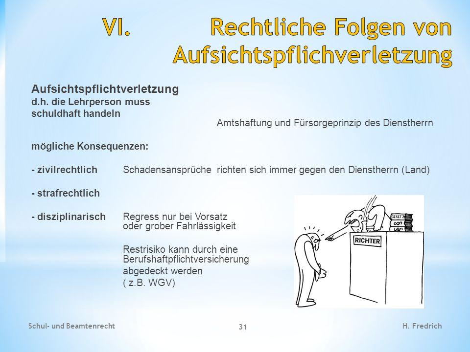 Aufsichtspflichtverletzung d.h.
