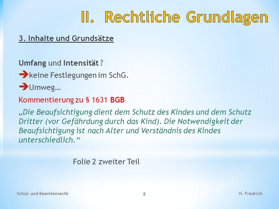 Fallbeispiel Schul- und Beamtenrecht 19 H.