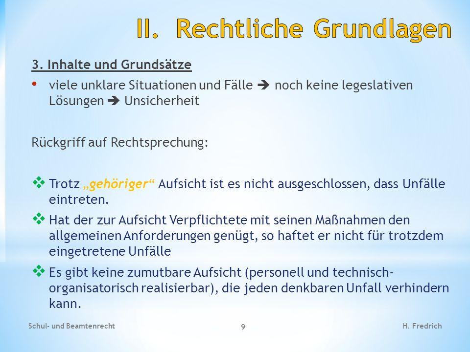 Fallbeispiel Schul- und Beamtenrecht 20 H.