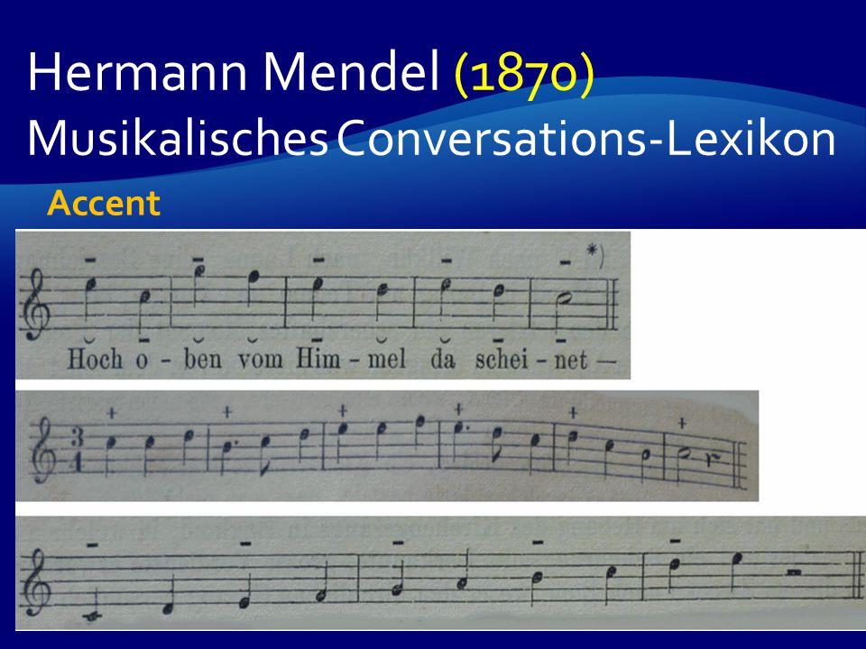 Hermann Mendel (1870) Musikalisches Conversations-Lexikon Accent