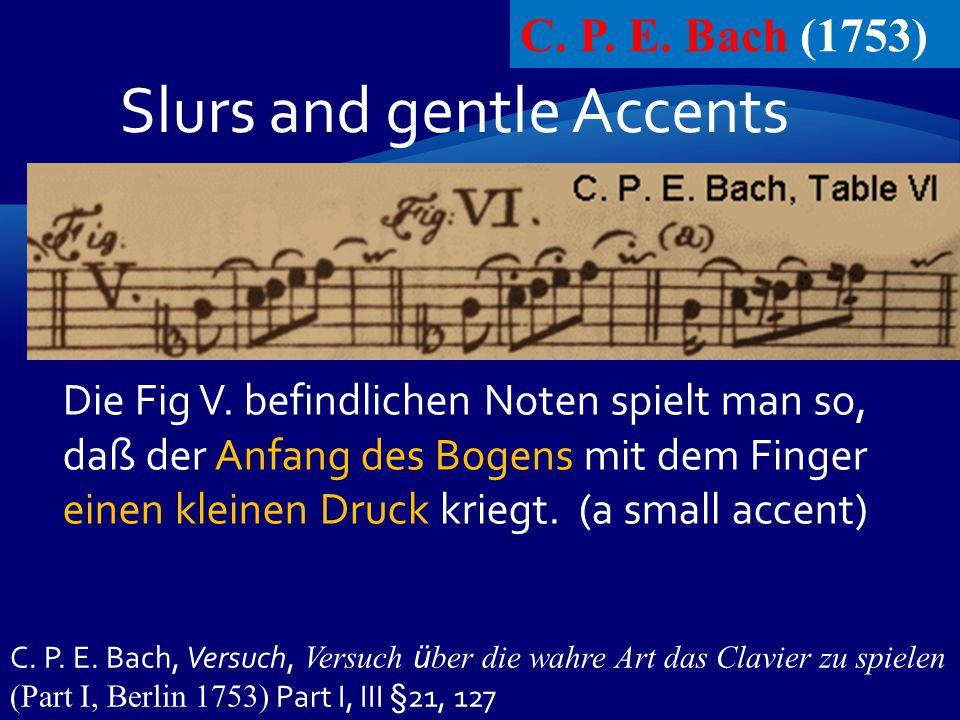 C. P. E. Bach (1753) C. P. E.