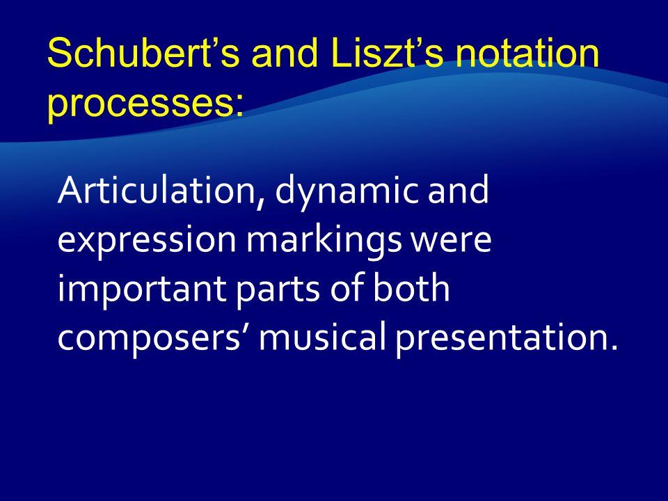 Der stürmische Morgen Schubert Liszt