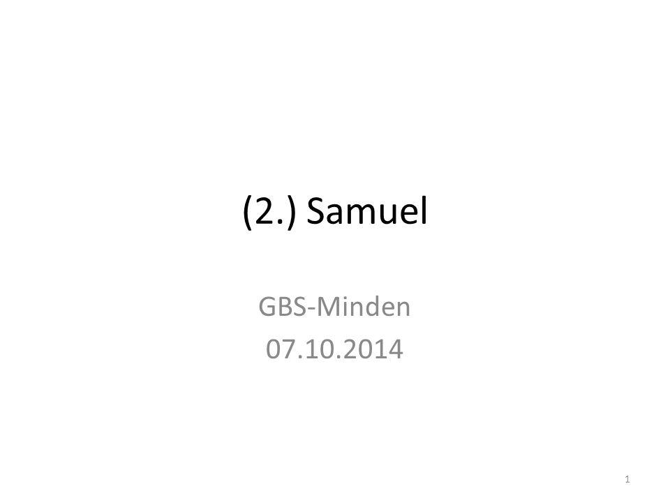 Samuel Saul David 2