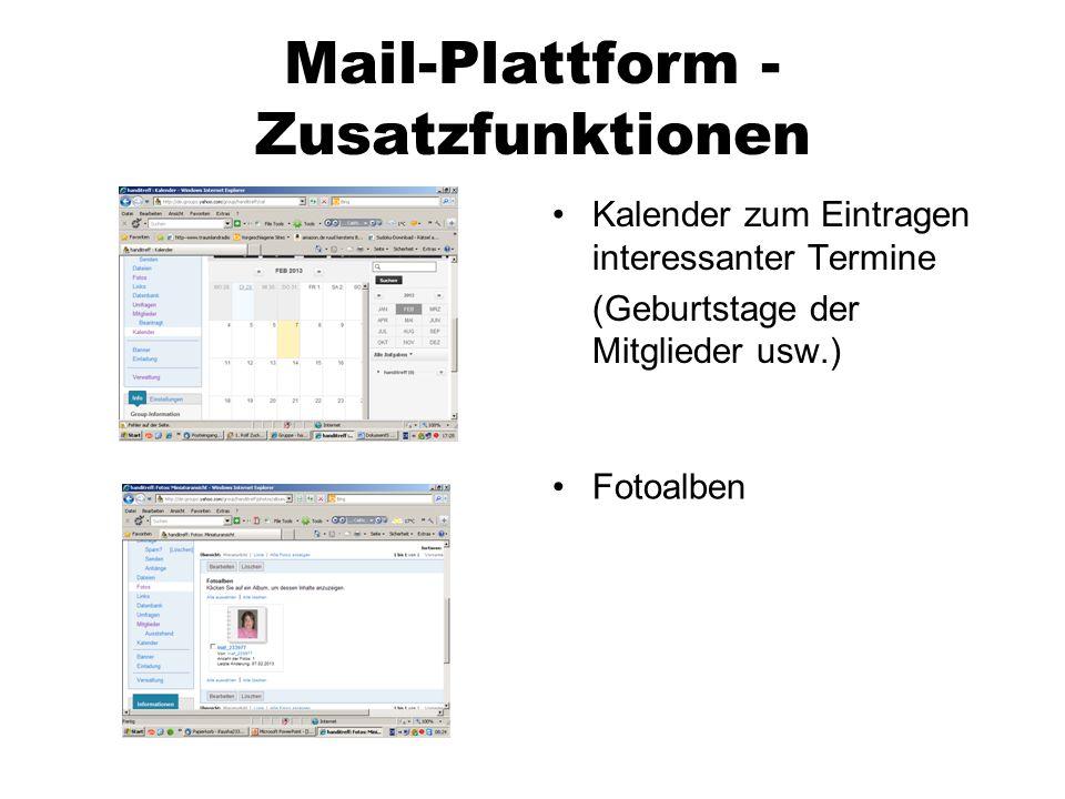 Unsere Ziele kurzfristig: -reger Austausch per eMail, im Chat und im Forum -regelmäßige Chats -gemeinsam unseren Alltag meistern und auch Ablenkung finden langfristig: -gezielte Themenchats -spezielle eMail-Themen -Kontakte aufbauen und eventuell Freunde finden