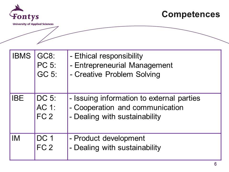 7 Agenda 1.Ziele der heutigen Veranstaltung 2. Kompetenzen 3.