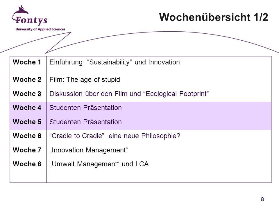 29 Optional: Weg-werf Gesellschaft West-Europa Click to watch a 3 min video.