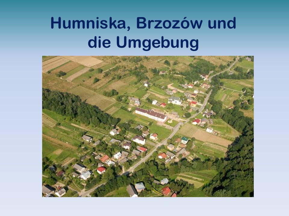 Humniska, Brzozów und die Umgebung