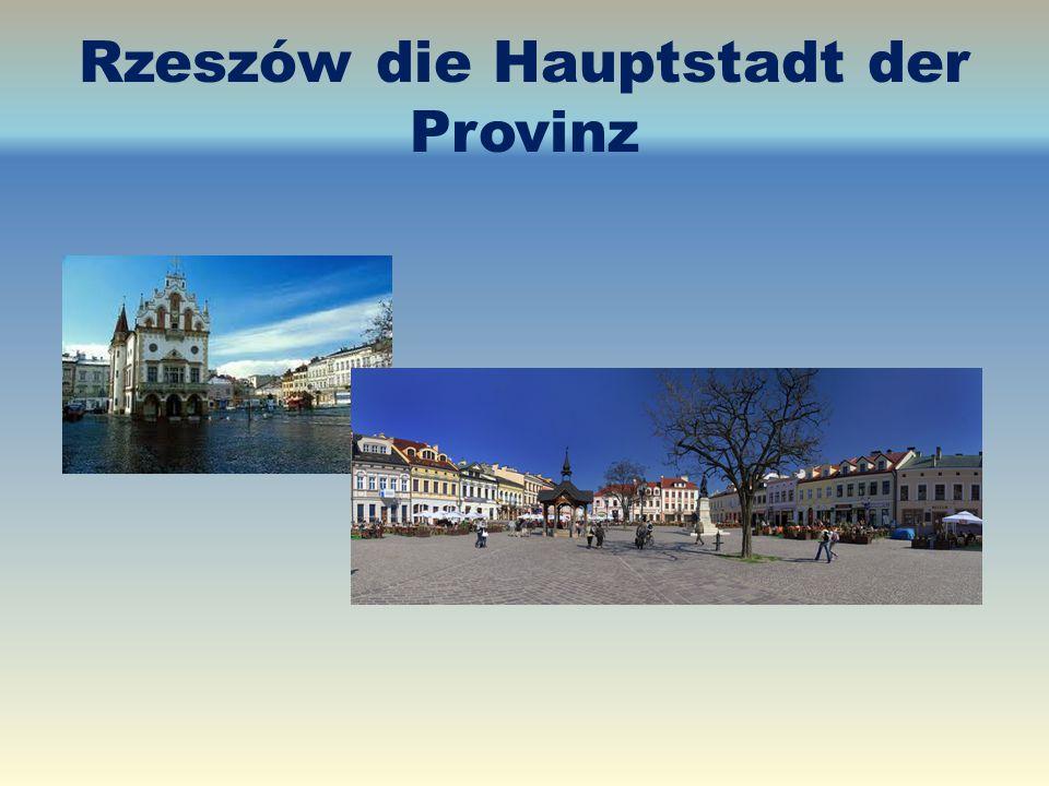 Rzeszów die Hauptstadt der Provinz