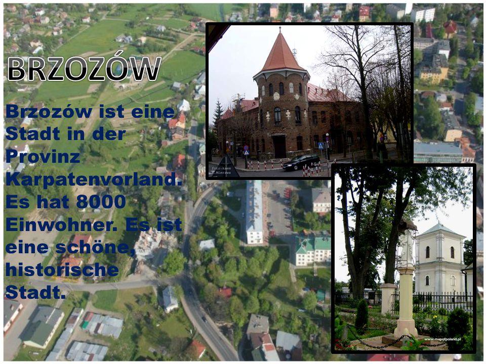 Brzozów ist eine Stadt in der Provinz Karpatenvorland.