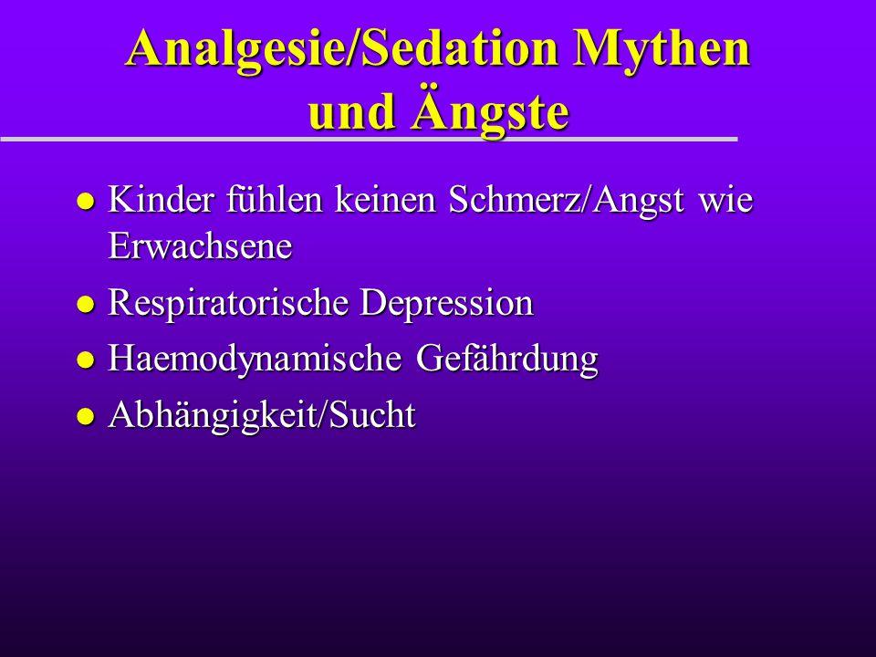 Tiefe Sedation l Ein medikamentös deprimierter Zustand des Bewusstseins oder Unbewusstseins, aus dem der Pat nicht einfach zu erwecken ist.