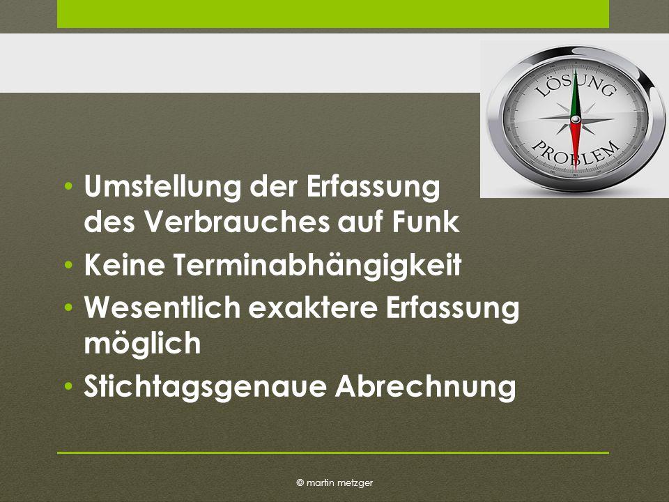 © martin metzger Beispiel Die Funkerfassung ist doch teuer.