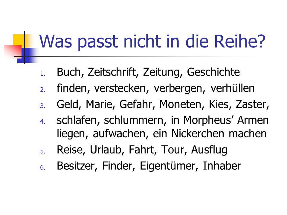 Zusammensetzungen bilden Bundes Edel Klein Kunst Müll Roh Stöber Übernachtungs Zeit fund kippe metall schrift staat stadt stoff tour werk