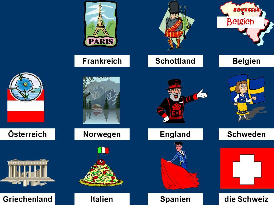 Ich bin nach...........gefahren. Österreich