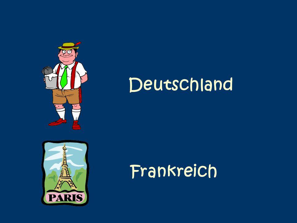 Deutschland Frankreich