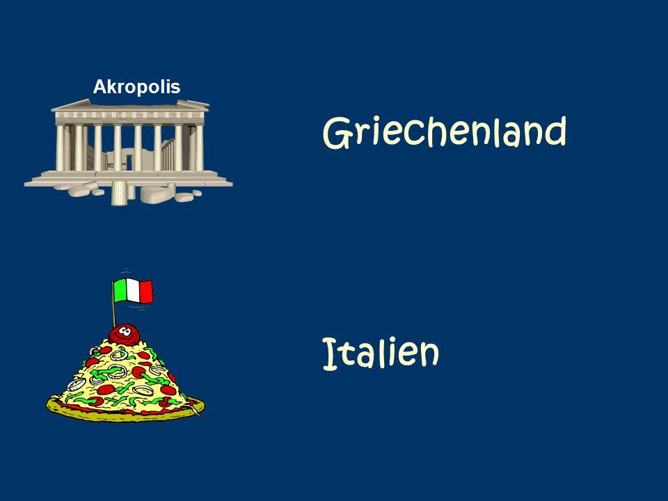 Akropolis Griechenland Italien