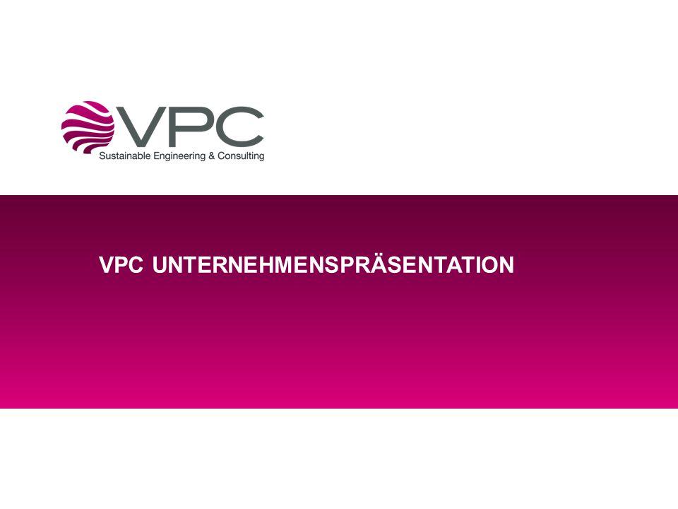 VPC UNTERNEHMENSPRÄSENTATION