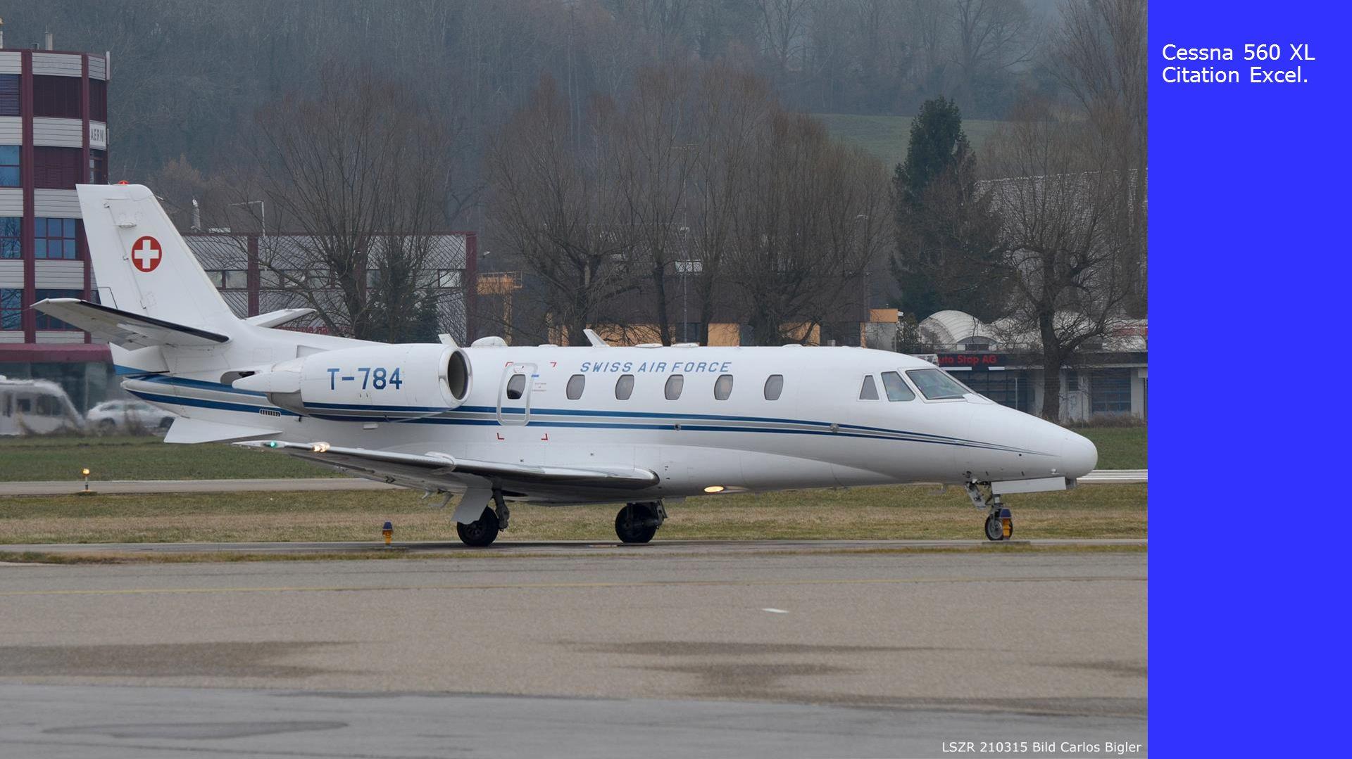 Cessna 560 XL Citation Excel.