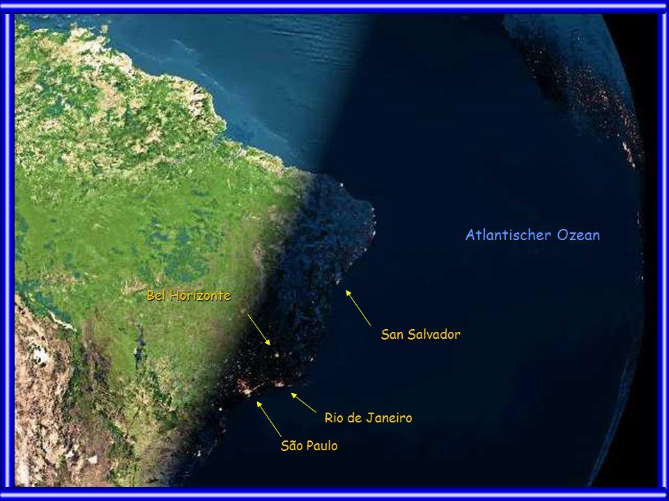 San Salvador Rio de Janeiro São Paulo Bel Horizonte