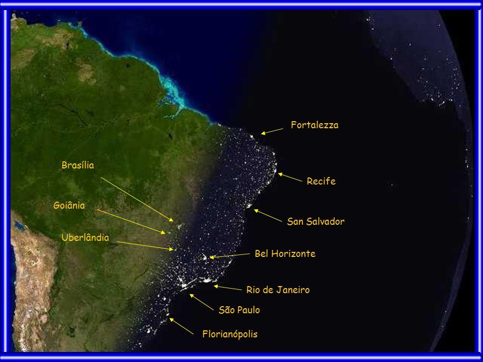 Fortalezza Recife San Salvador Bel Horizonte Rio de Janeiro São Paulo Florianópolis Brasília Goiânia Uberlândia