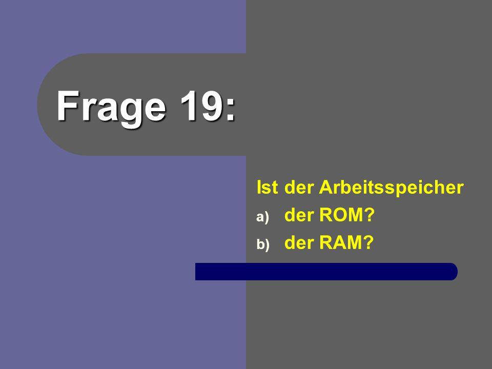 Antwort 18: Datei