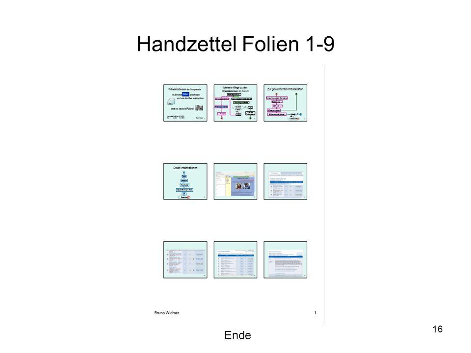 16 Handzettel Folien 1-9 Ende