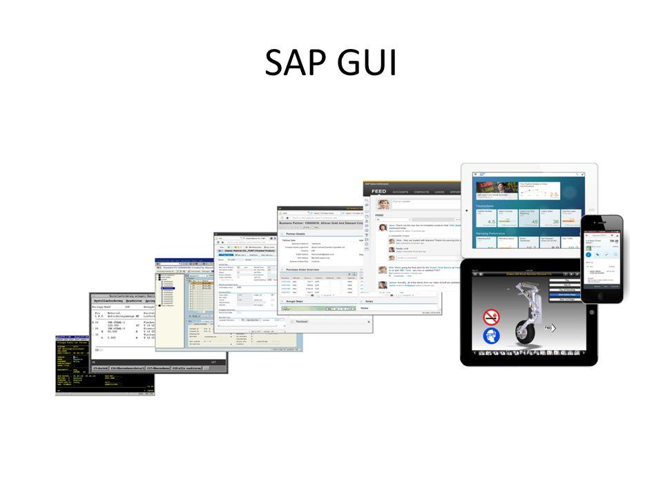 SAP GUI