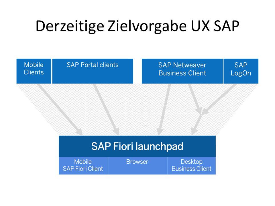 Use Case Programmierung eines neuen AddOn für SAP-ERP Fragestellungen: Wird eine mobile Lösung benötigt.