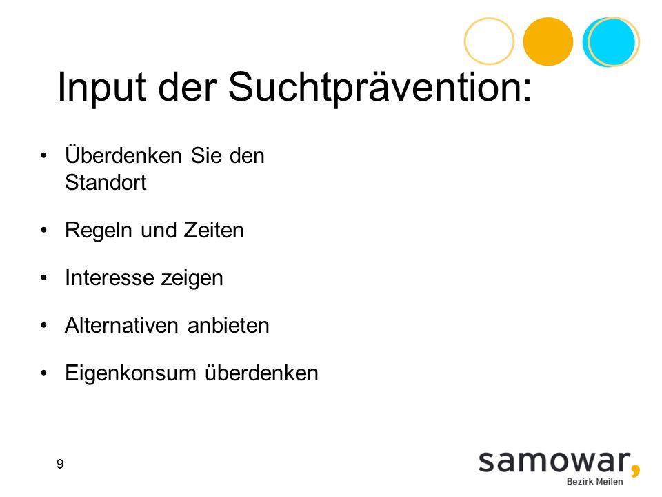 Ein Handout der Präsentation und eine Zusammenfassung des Erfahrungsaustausches finden sie auf: www.samowar.ch www.samowar.ch Vielen Dank für ihre Aufmerksamkeit