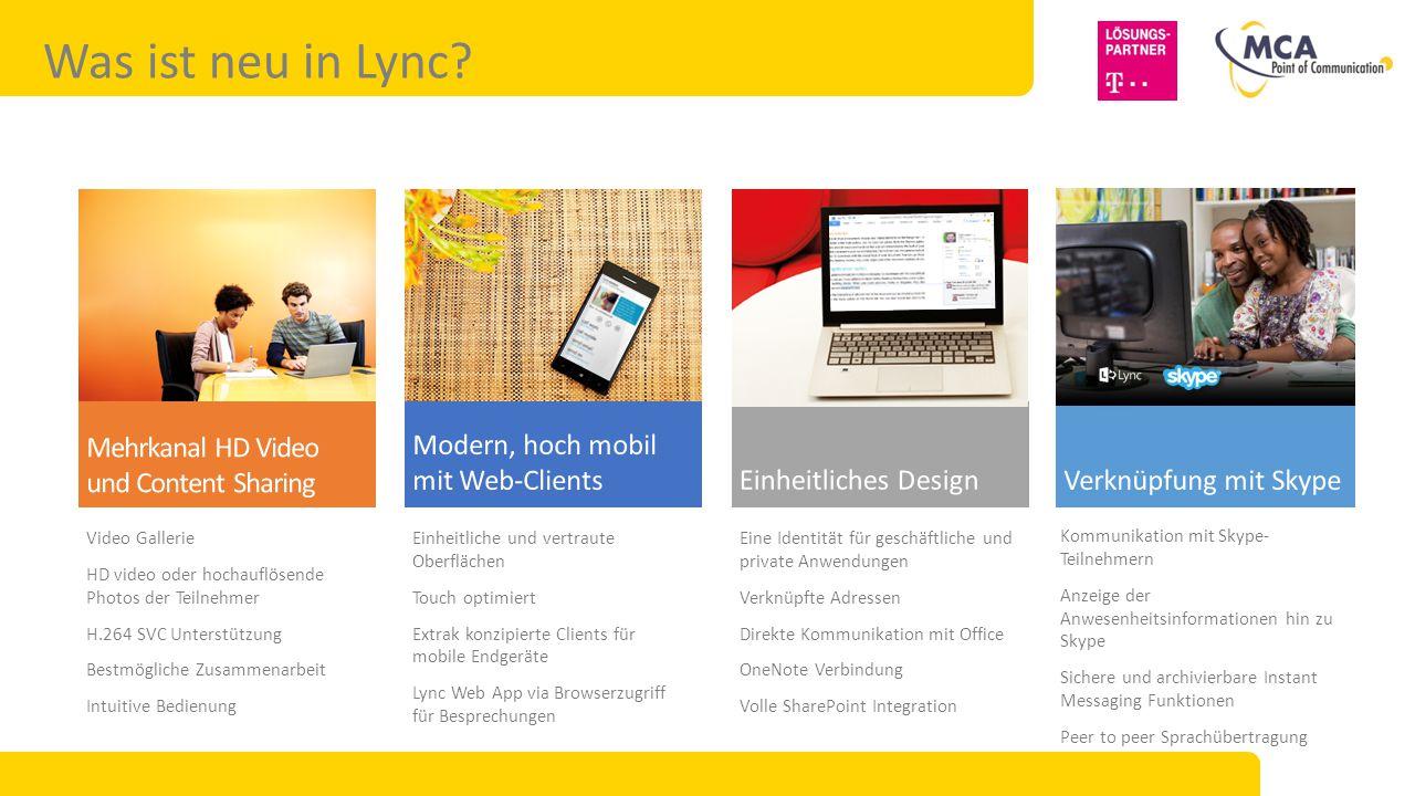 Lync Enterprise Vorteile