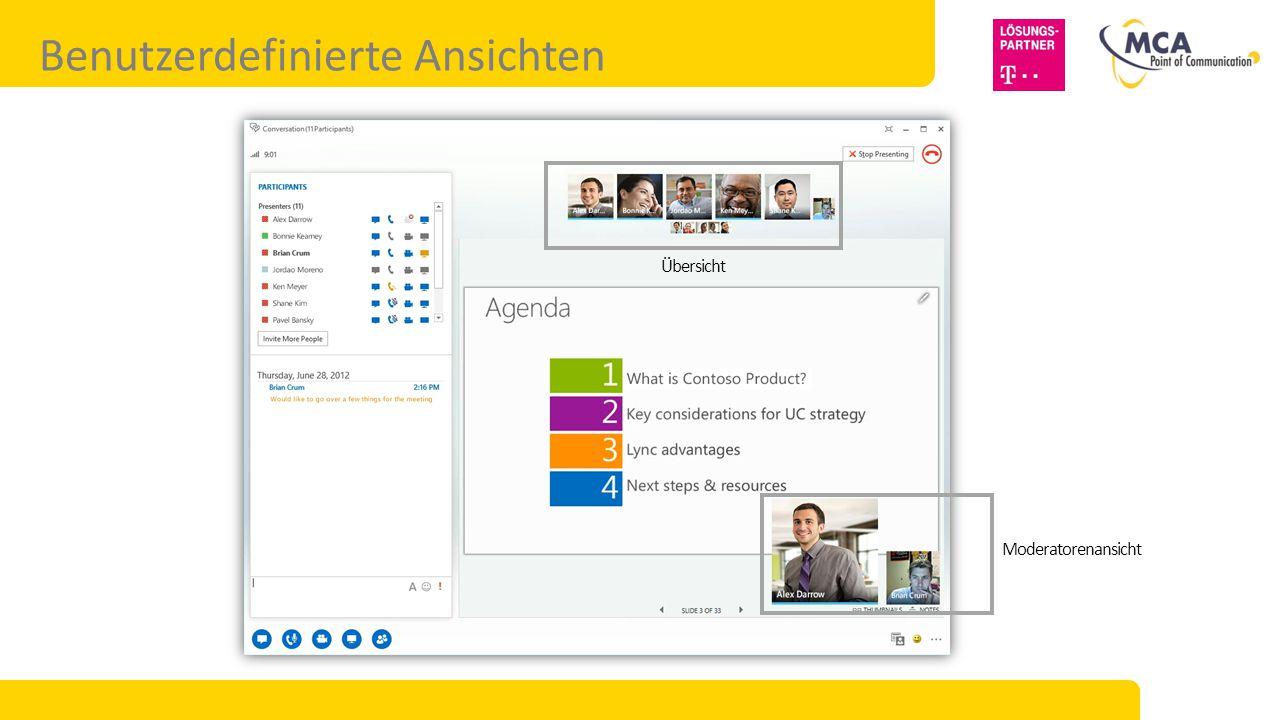Plattformoptionen für Microsoft Lync 2013 Lync Server Ideal für: Private Cloudlösungen.