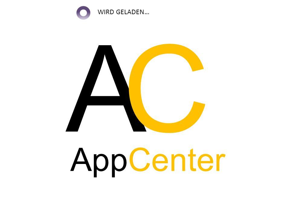 A C AppCenter WIRD GELADEN…