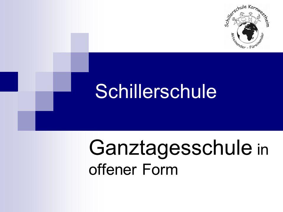Schillerschule Ganztagesschule in offener Form