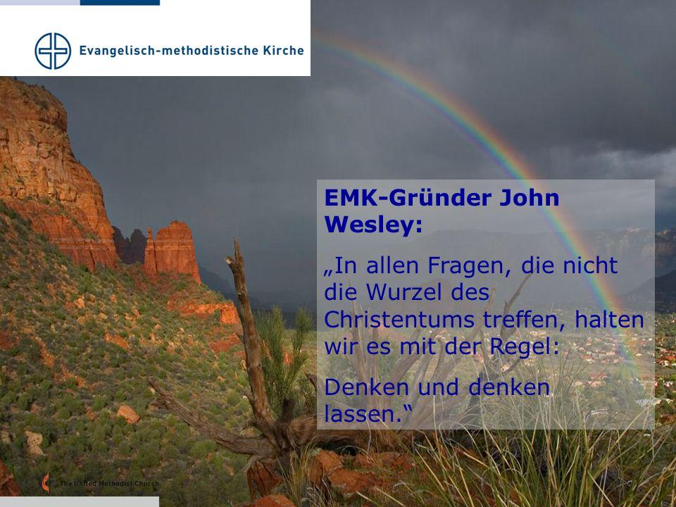 """EMK-Gründer John Wesley: """"In allen Fragen, die nicht die Wurzel des Christentums treffen, halten wir es mit der Regel: Denken und denken lassen."""""""