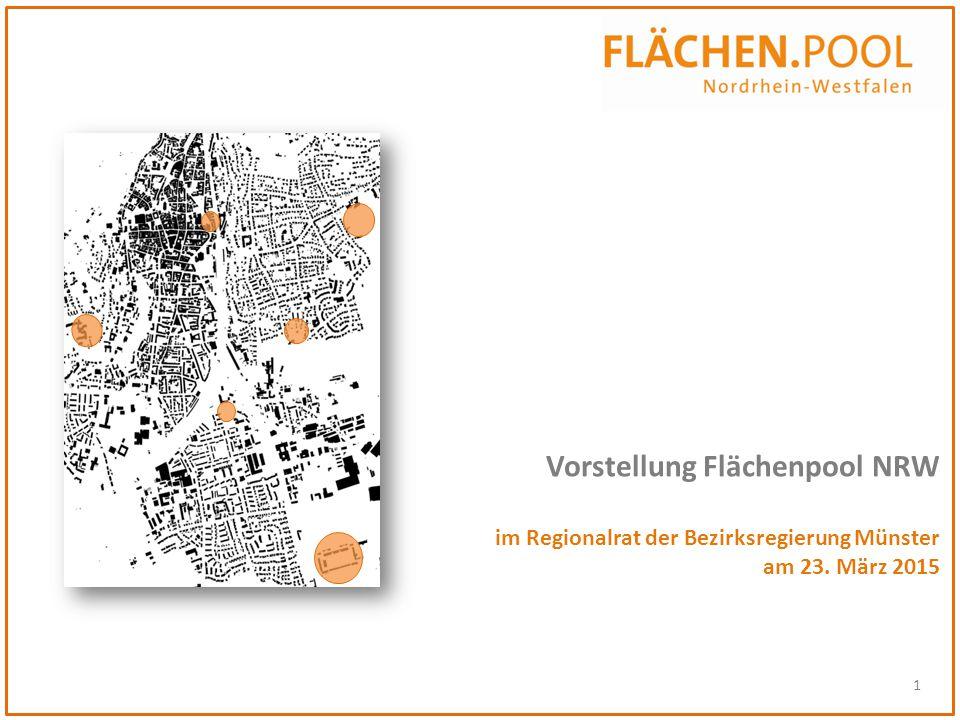 1 Vorstellung Flächenpool NRW im Regionalrat der Bezirksregierung Münster am 23. März 2015