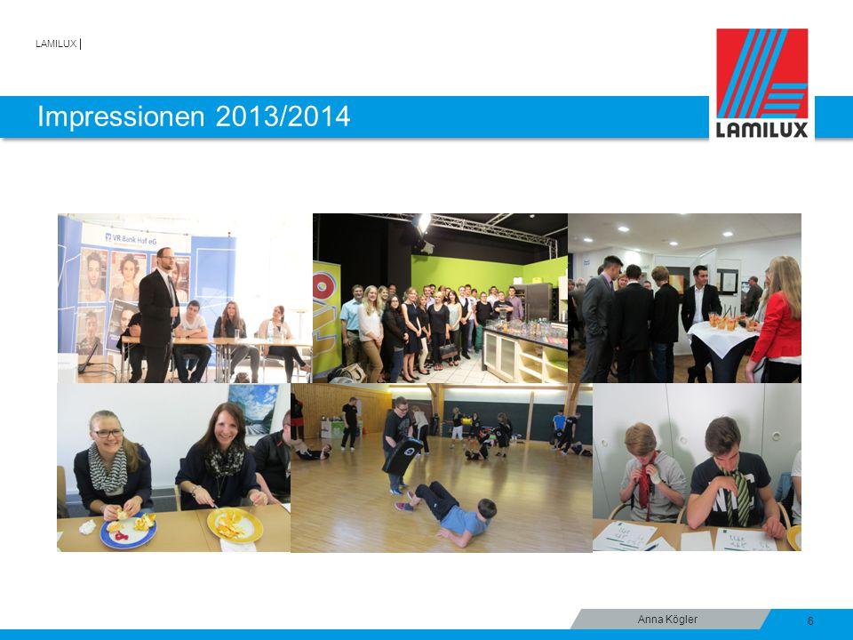 LAMILUX Impressionen 2013/2014 6 Anna Kögler