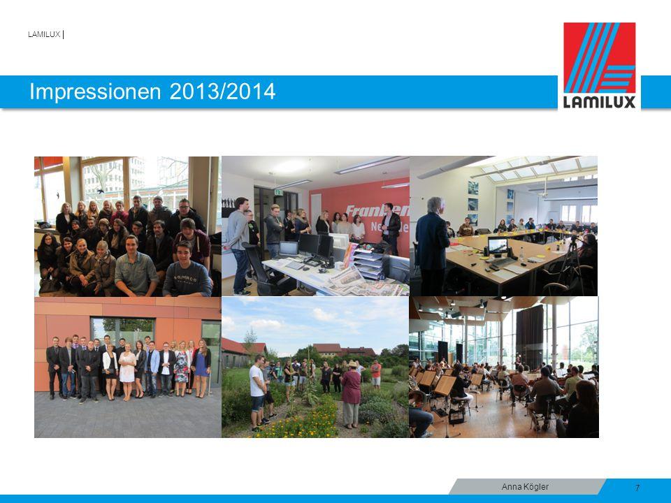 LAMILUX Impressionen 2013/2014 7 Anna Kögler
