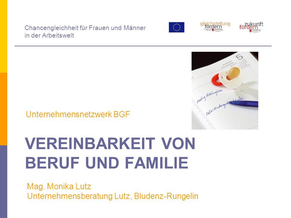 Was haben BGF und Vereinbarkeit von Beruf & Familie gemeinsam.