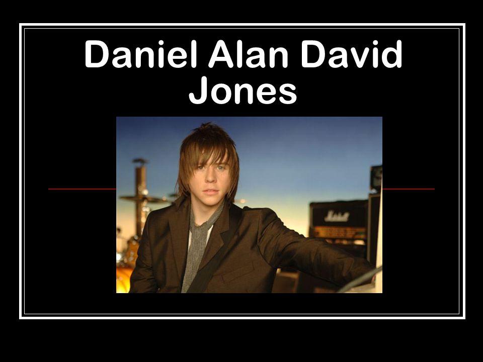 Daniel Alan David Jones