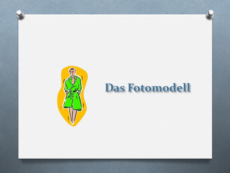 Das Fotomodell