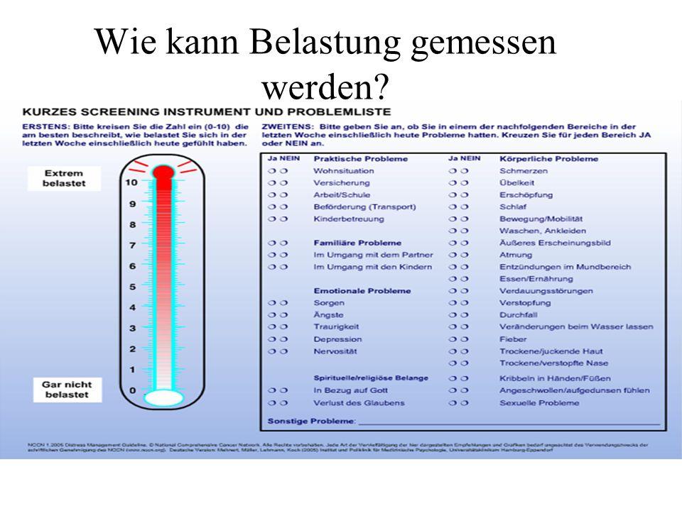 Wie kann Belastung gemessen werden?
