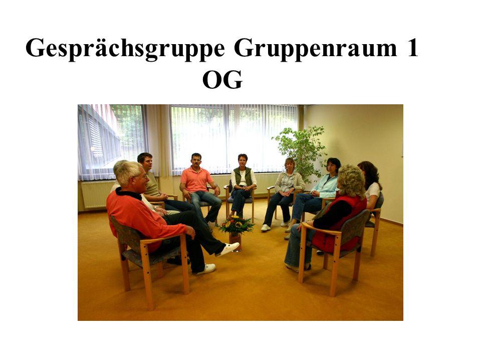 Gesprächsgruppe Gruppenraum 1 OG