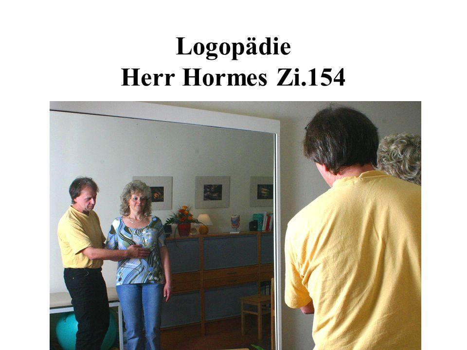 Logopädie Herr Hormes Zi.154