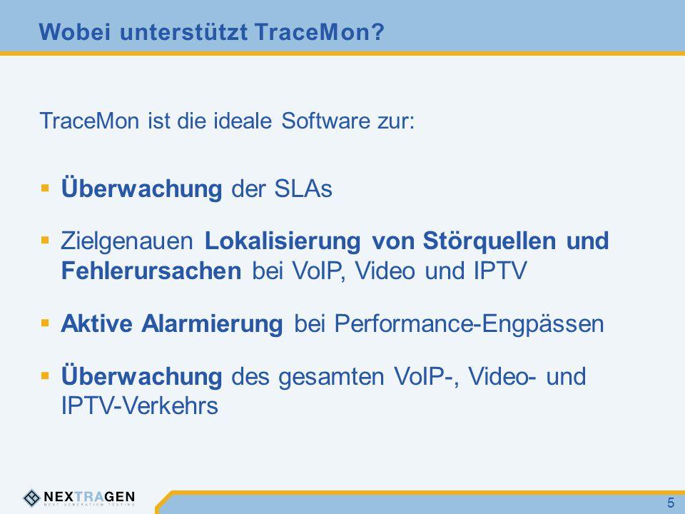 Wobei unterstützt TraceMon.