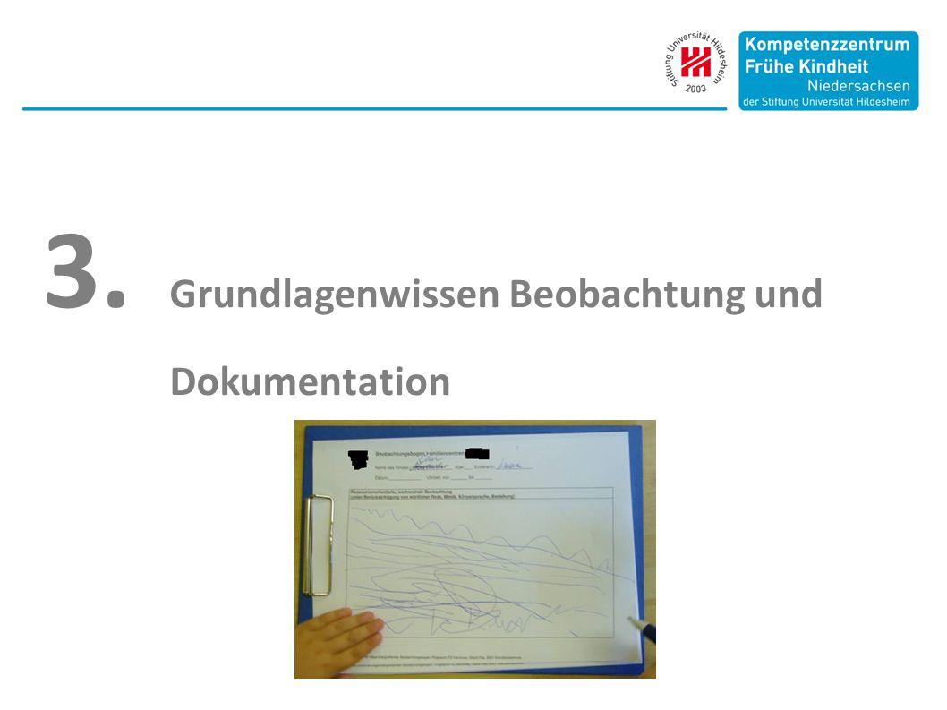 3. Grundlagenwissen Beobachtung und Dokumentation
