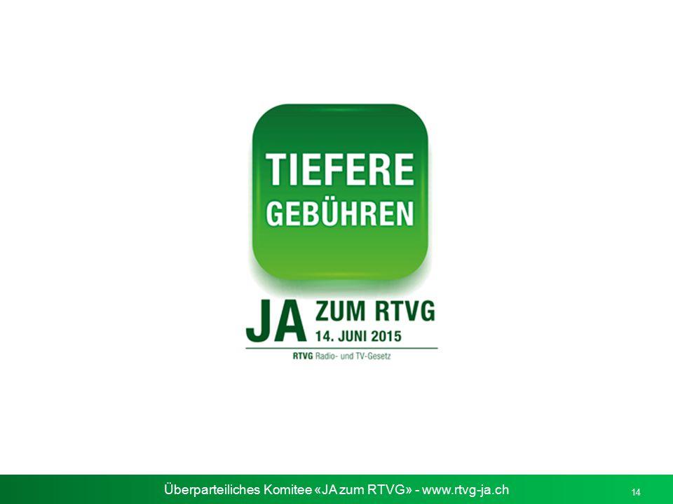 Überparteiliches Komitee «JA zum RTVG» - www.rtvg-ja.ch 14