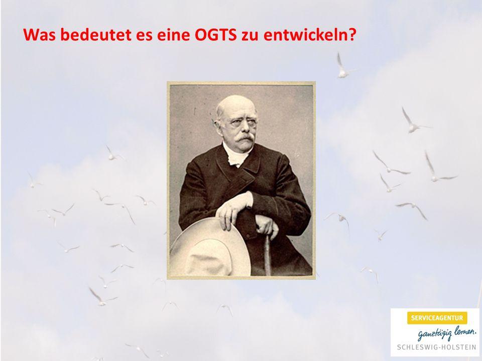 Was bedeutet es eine OGTS zu entwickeln?