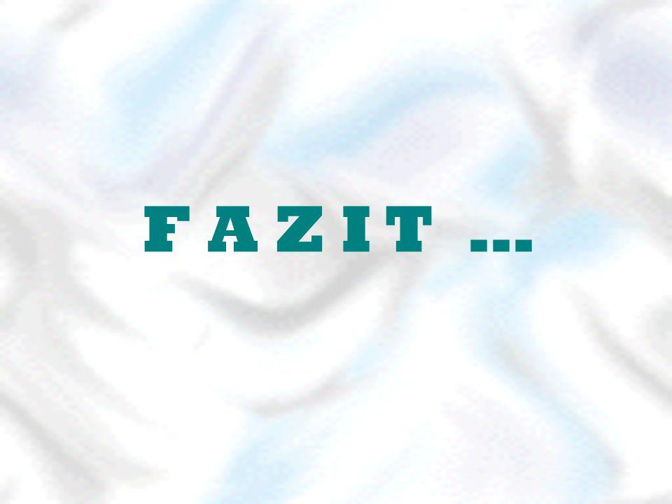 F A Z I T …