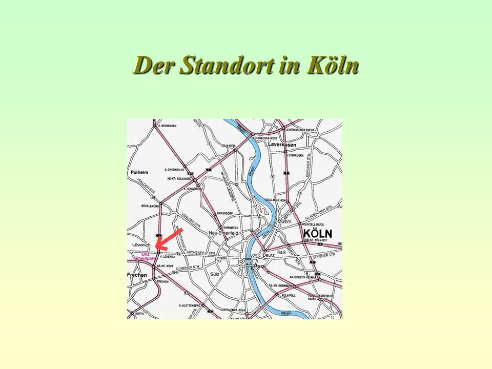 Der Standort in Köln