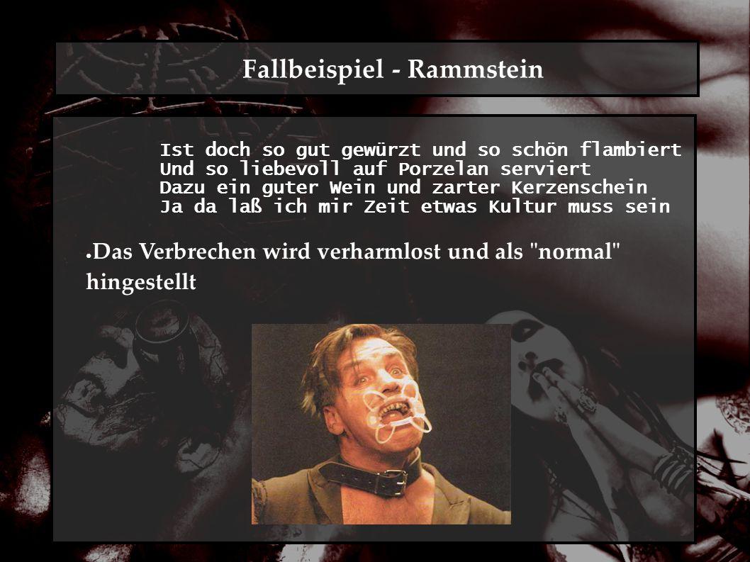Fallbeispiel - Disturbed No mommy, Don t do it again, Don t do it again I ll be a good boy, I ll be a good boy, I promise No mommy don t hit me ● evtl.